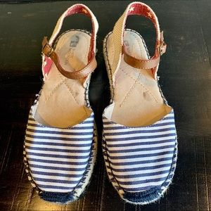 White Mountain Blue Sandals Size 7